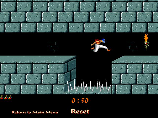 Prince of persia jeu vidéo retro retrogaming